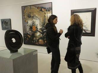 Los expertos alaban la exposición El Devenir de la Abstracción Española, que se exhibe en el Museo Sobrino