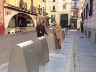 Acabados y operativos los 65 contenedores soterrados del casco histórico de la capital