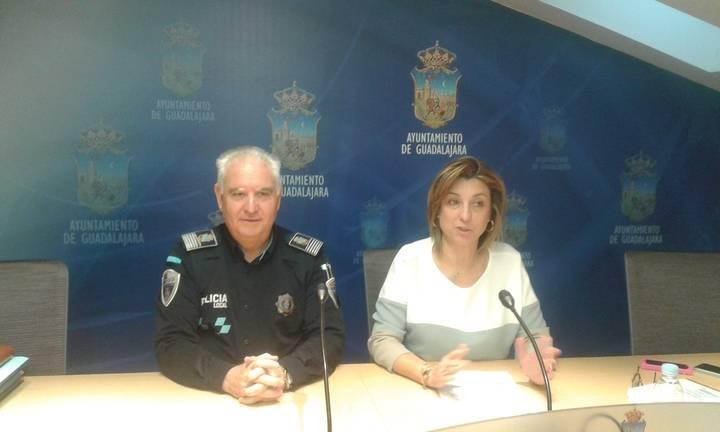 Los policías locales de Guadalajara tuvieron que trabajar 152.124 veces a lo largo de todo el 2015