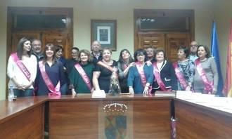 Las mujeres de Santa Águeda cogen el Bastón de Mando y gobiernan en Jadraque