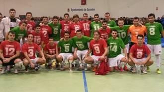 Samuel Pérez, en el recuerdo de todos sus compañeros, que celebraron la primera edición de un torneo en su honor