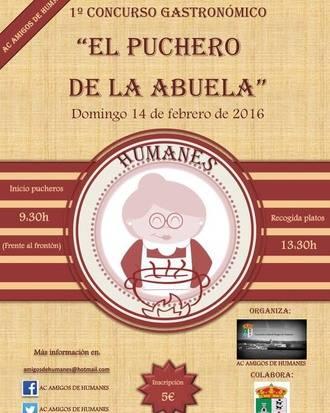 'El Puchero de la Abuela', nuevo concurso gastronómico de la Asociación Cultural Amigos de Humanes