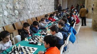 Celebrada en Brihuega la primera jornada del XI Circuito de Ajedrez promovido por Diputación
