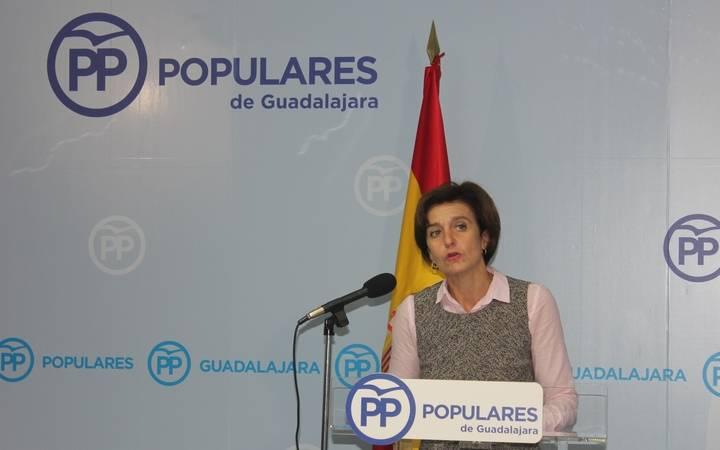 """Ana González: """"Los presupuestos que prepara Page demuestran una vez más su traición a Guadalajara"""""""