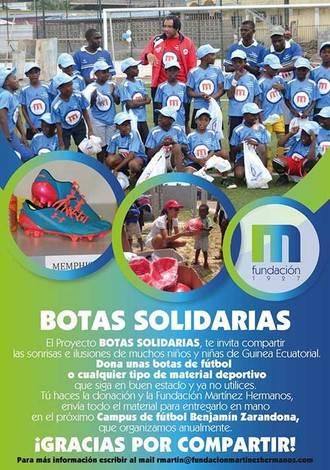 El Deportivo Guadalajara colabora con Botas Solidarias