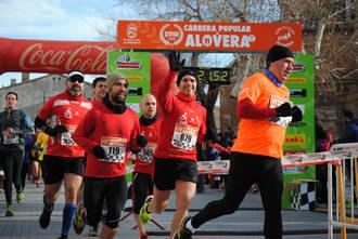 Un millar de corredores celebraron la mayoría de edad de la Carrera Popular de Alovera