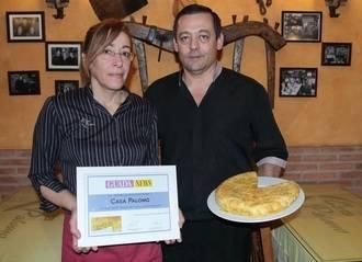 Casa Palomo recibe de Guadanews su reconocimiento como 'La mejor tortilla de patata de Guadalajara'