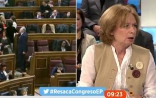 Pilar Cernuda sobre los diputados de Podemos: