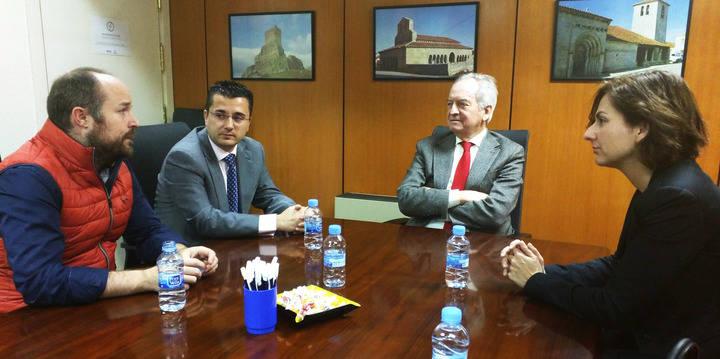 La CEOE se reúne con Ciudadanos (C's) Guadalajara y solicita un 'Gobierno estable'