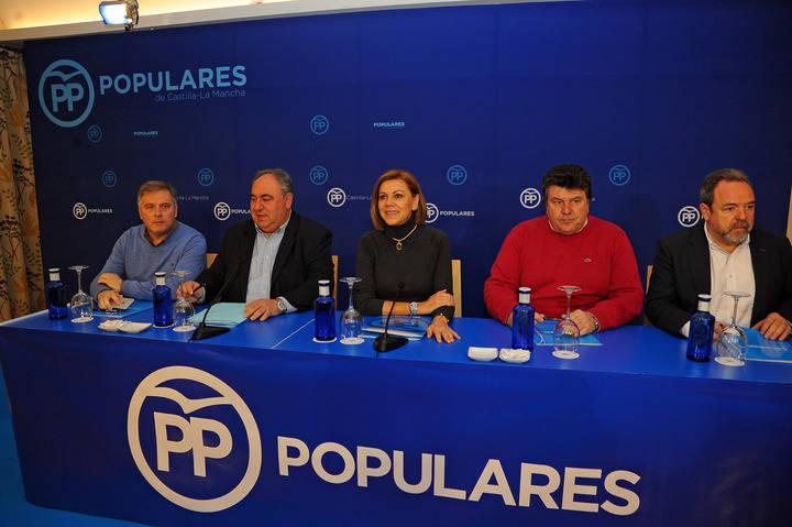 """Cospedal: """"No vamos a ceder nunca en la defensa de los intereses de los castellano-manchegos"""""""
