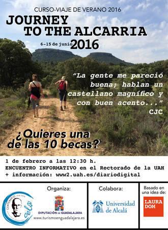 La Diputación y la UAH organizan una jornada informativa para alumnos que quieran participar en el 'Viaje a la Alcarria'