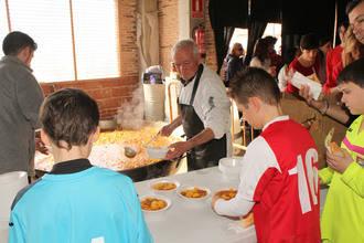 Los seteros compartieron mesa y mantel en San Vicente