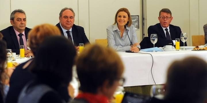 """Cospedal: """"La unidad de España no puede estar sujeta a negociación por el interés del secretario general del PSOE"""""""