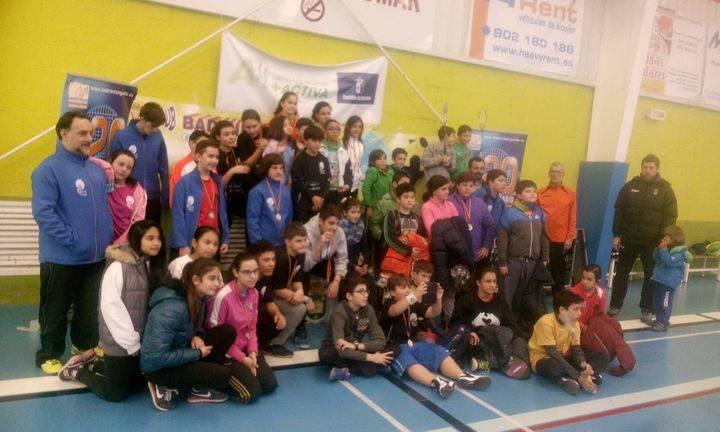 Continúa el IV Circuito Provincial de Badminton del Deporte Escolar