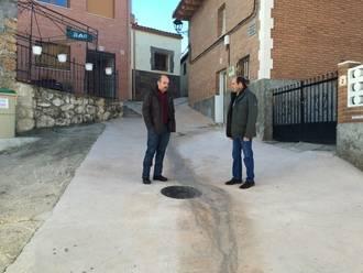 Henche, Valderrebollo, Alaminos y Las Inviernas renuevan sus redes gracias a Diputación