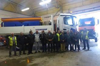 La Diputación adquiere nueva maquinaria para mejorar los servicios a los pueblos de la provincia