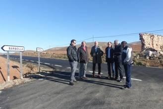 La Diputación acondiciona casi 13 kilómetros de carretera entre el cruce de La Barbolla y Paredes de Sigüenza