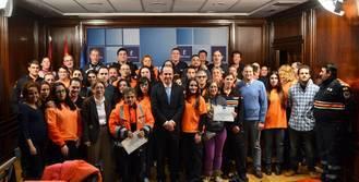 La Junta entrega el carnet de manejo de desfibriladores a 53 voluntarios de Protección Civil en Guadalajara