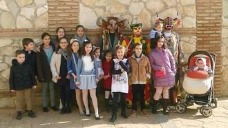 La Botarga de Málaga del Fresno recorre las calles para celebrar la Virgen de la Paz