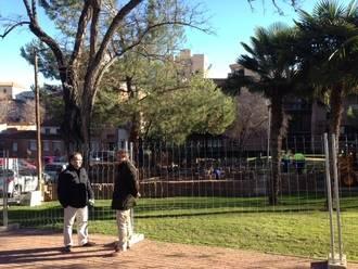 El Ayuntamiento de la capital continúa mejorando las zonas verdes de la ciudad