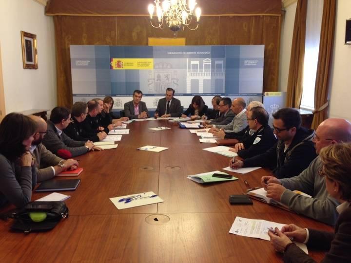 El Ayuntamiento y el Gobierno de España trabajan en el dispositivo de seguridad de la Copa de España de Fútbol Sala