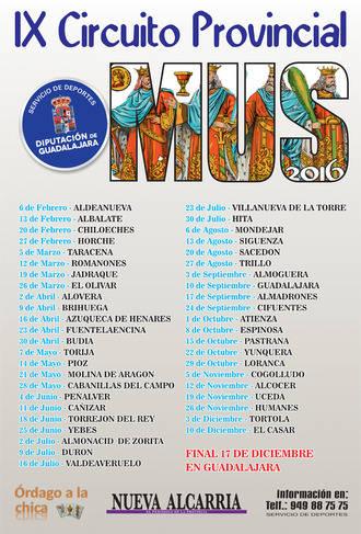 El sábado se celebra en Aldeanueva de Guadalajara la primera Fase Local del IX Circuito Provincial de Mus