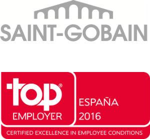 """Saint Gobain obtiene en España la certificación """"Top Employers"""" 2016"""