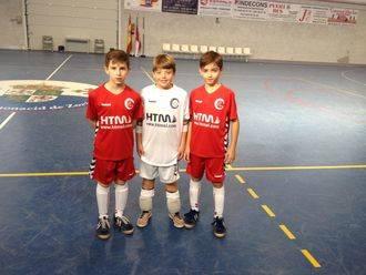 Tres benjamines del CD Guadalajara FS, convocados con la selección regional