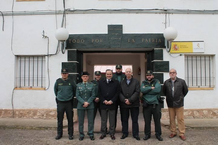 El delegado del Gobierno visita el municipio de Jadraque