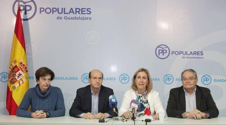 Satisfacción en el PP de Guadalajara por los nombramientos en Congreso y Senado para sus parlamentarios nacionales