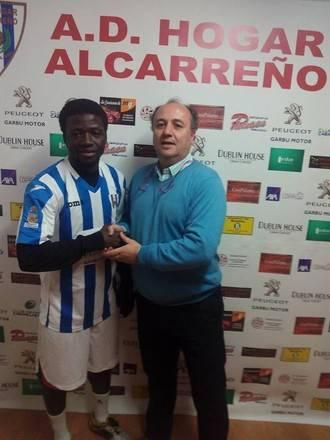Moussa ficha por el Hogar Alcarreño