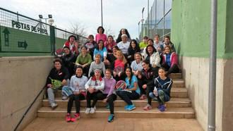 El primer torneo femenino de pádel en el año 2016 ha formado parte de la programación de San Vicente en Quer