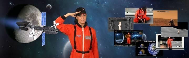 La comandante Lili invita a los niños de Valdeluz y Yebes a vivir una aventura inolvidable por el espacio
