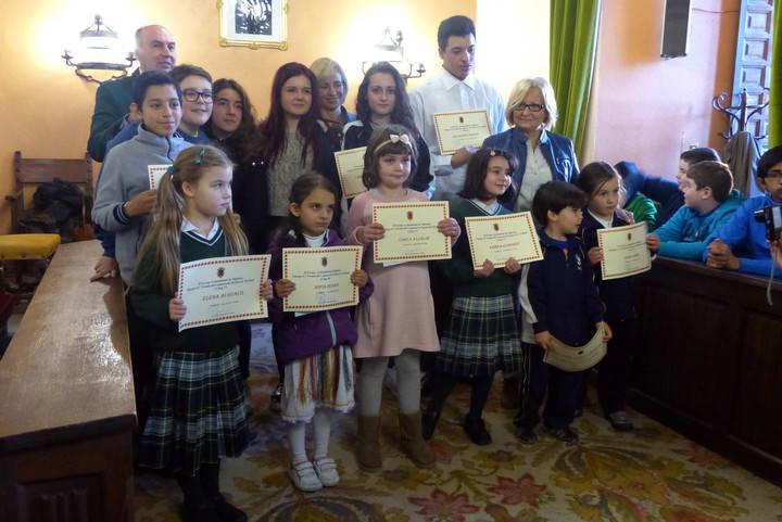 Entregados los premios concurso de Tarjetas de Navidad de Sigüenza