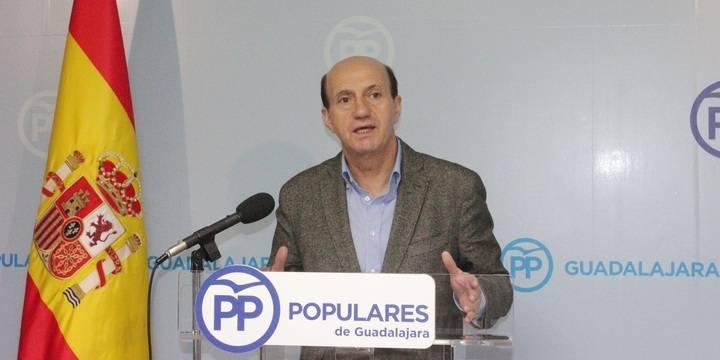 """Juan Pablo Sánchez: """"Page y Pedro Sánchez son dos perdedores convertidos en muñecos en manos del titiritero Iglesias"""""""