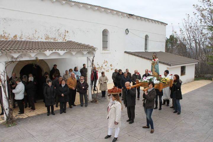Tabladillo celebró ayer su fiesta patronal de la Virgen de las Candelas