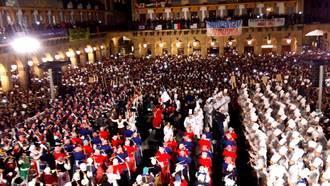 San Sebastián se llena de tambores y rataplanes en su Día Más Grande