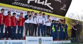 Más de 650 atletas menores de 16 años han participado en el Campeonato Regional en Edad Escolar de Campo a Través, celebrado en Guadalajara