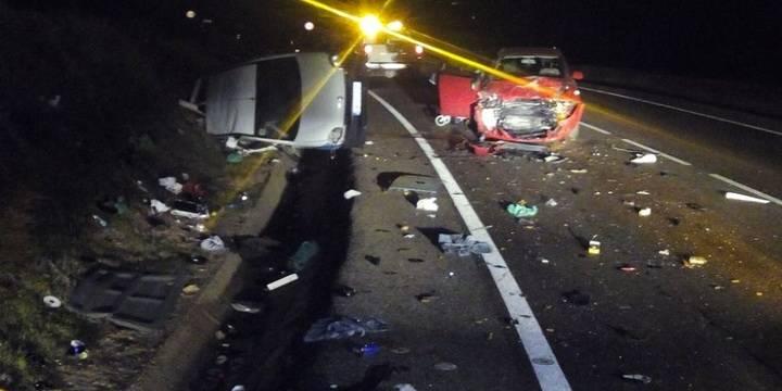 Choque de dos vehículos en El Casar con cinco heridos, dos de ellos niños