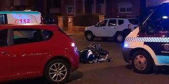 Muere un motorista de 29 años tras chocar con un vehículo en la calle Toledo