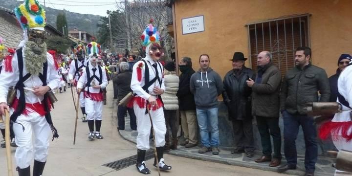 Latre resalta la implicación de los vecinos de Almiruete en la celebración de las Botargas y Mascaritas