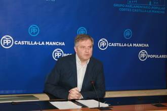 """Cañizares: """"El PSOE de Page utiliza Castilla-La Mancha como laboratorio político de sus pactos con Podemos"""""""