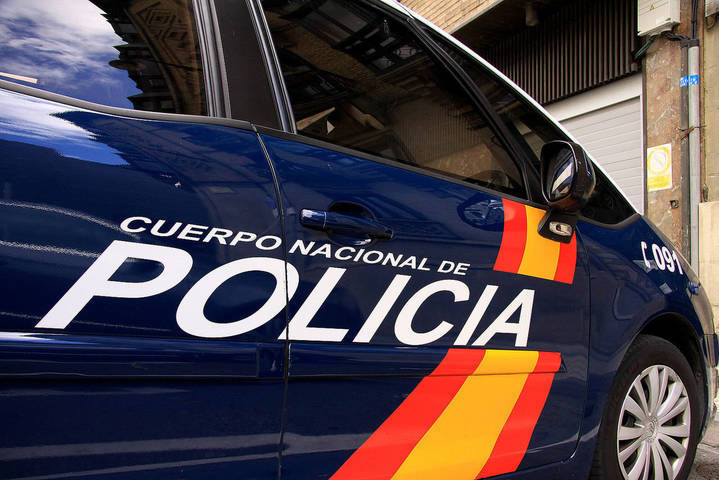 Detenidos dos ladrones con antecedentes por intentar robar una tienda de instrumentos musicales en Guadalajara