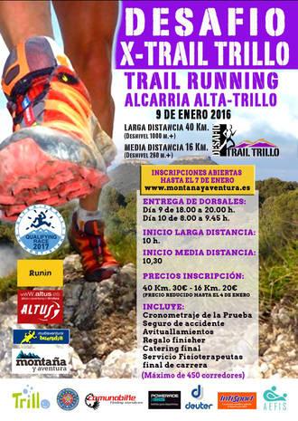Ya está aquí el Desafío Invernal Trail Running de Trillo