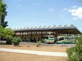 Da positivo en legionela la fuente ornamental de la estación de autobuses de Manzanares