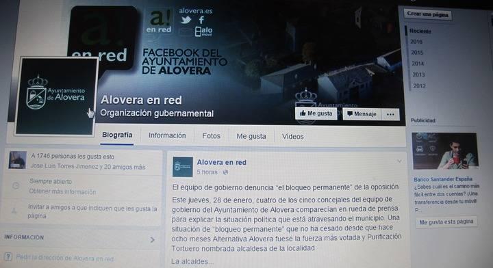 """El PP de Alovera estudia recurrir a la justicia para denunciar """"la utilización de la alcaldesa de medios públicos para intereses particulares"""""""