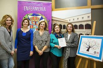El Colegio de Enfermería de Guadalajara recoge más de 400 kilos de alimentos para Cáritas