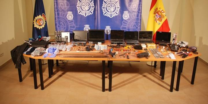 La Policía explica los detalles de la operación del GEO en Guadalajara contra la organización responsable de 50 robos