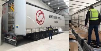 La Guardia Civil recupera en El Casar un tráiler cargado de baterías 72 horas después de haber sido robado