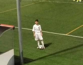 El cabanillero Gael Nieto, convocado por el Real Madrid